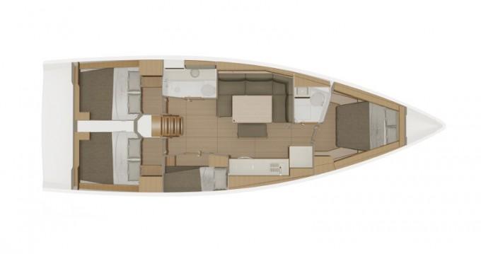Alquiler de barcos Dufour Dufour 430 Grand Large enLefkada (Isla) en Samboat