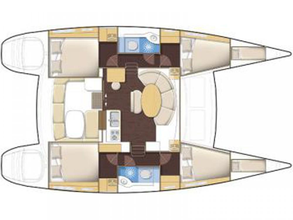 Alquiler de Catamarán, con o sin patrón Lagoon Marina de Alimos