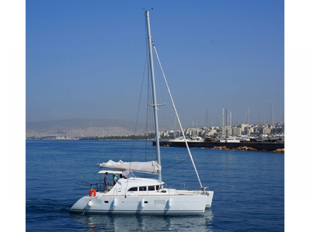Alquiler Catamarán en Marina de Alimos - Lagoon Lagoon 380 S2