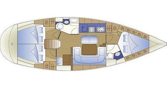 Bavaria Bavaria 40 Cruiser entre particulares y profesional Gouviá