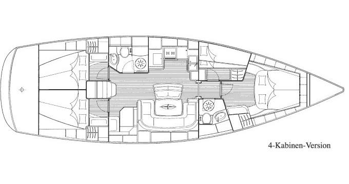 Bavaria Bavaria 46 Cruiser entre particulares y profesional Lávrio