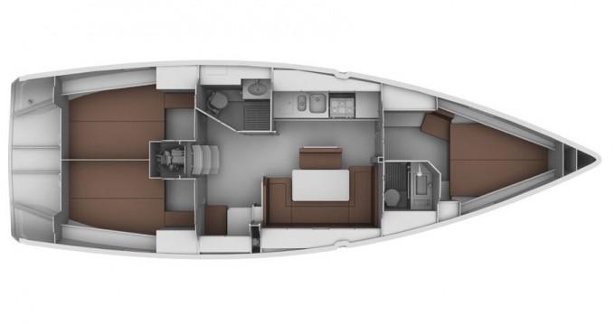 Alquiler de barcos Gouviá barato de Cruiser 40
