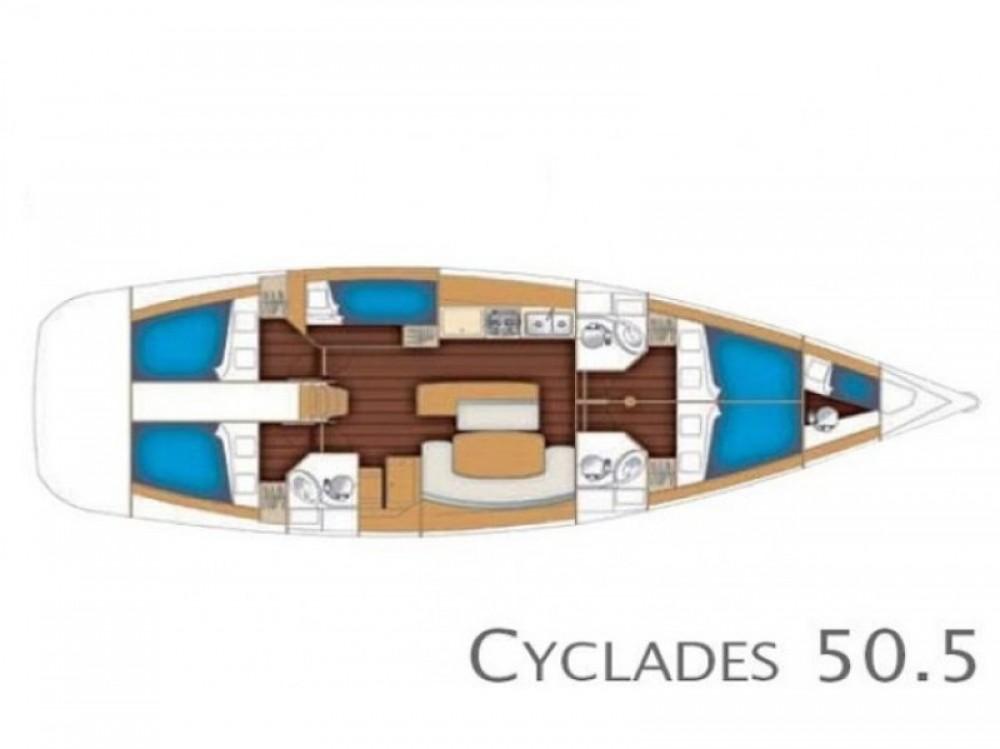 Alquiler de barcos Bénéteau Cyclades 50.5 en en Samboat