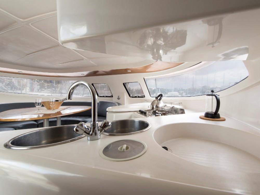 Alquiler Catamarán en  Léucade - Fountaine Pajot Athena 38