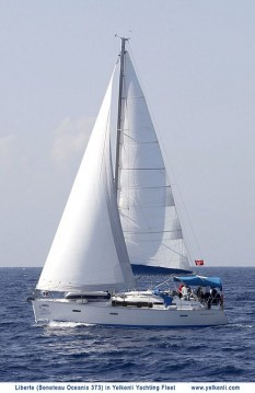 Bénéteau Oceanis 373 entre particulares y profesional Orhaniye