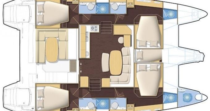 Alquiler de yate Orhaniye - Lagoon Lagoon 420 en SamBoat