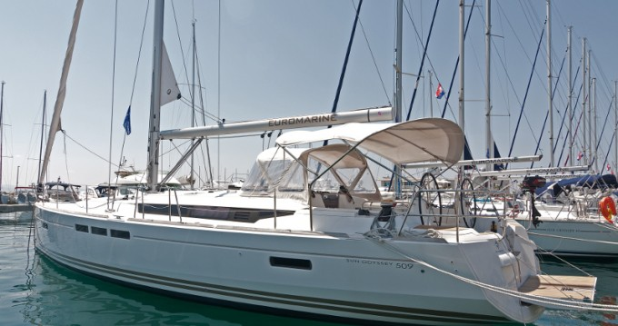 Jeanneau Sun Odyssey 509 entre particulares y profesional Split