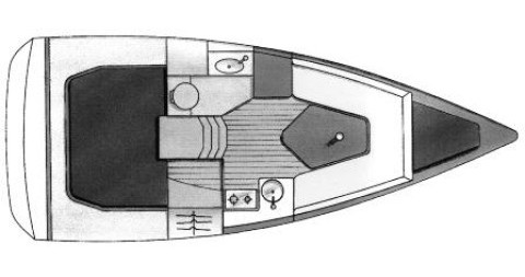 Alquiler de barcos Jeanneau Sun Fast 26 enBiograd na Moru en Samboat