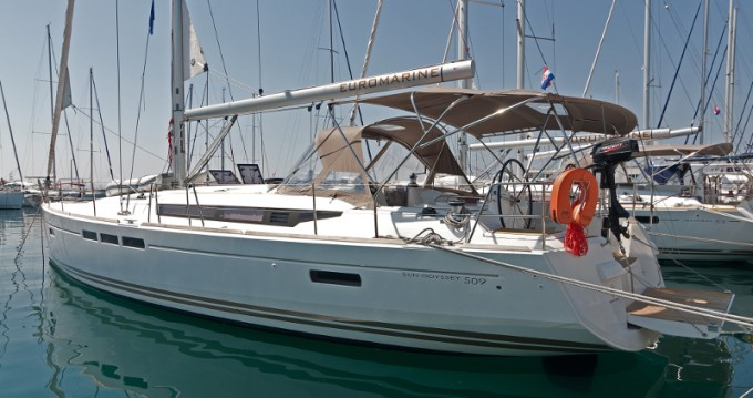 Alquiler de barcos Split barato de Sun Odyssey 509