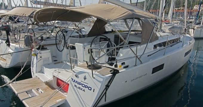 Alquiler Velero en Split - Jeanneau Sun Odyssey 440