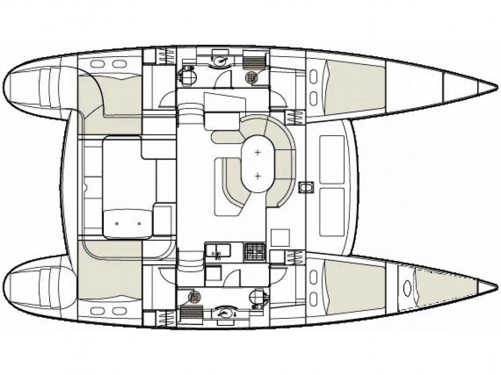 Alquiler Catamarán en Murter - Lagoon Lagoon 410 S2