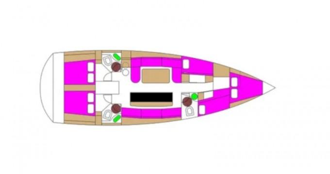 Alquiler de barcos Biograd na Moru barato de D&D Kufner 50