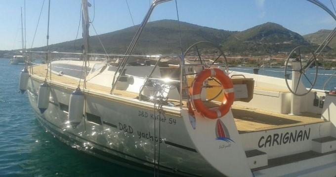 Alquiler de barcos Trogir barato de D&D Kufner 54.1