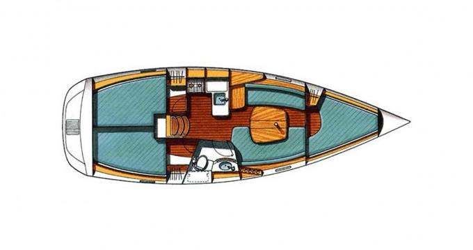 Alquiler de yate Lávrio - Bénéteau Oceanis 331 en SamBoat