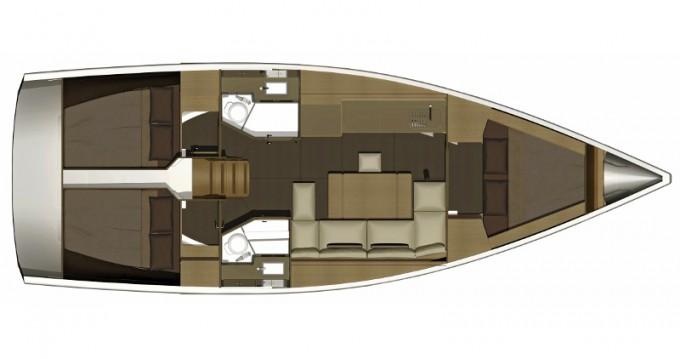 Alquiler de barcos Kos barato de Dufour 382