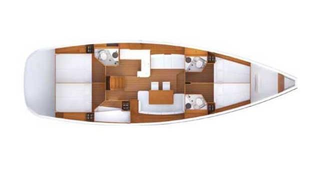 Alquiler de barcos Kos barato de Jeanneau 53