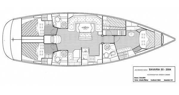 Alquiler de Bavaria Bavaria 50-4 CBS Cruiser en Kos