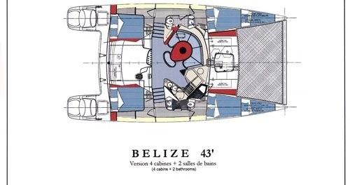 Alquiler de Fountaine Pajot Belize 43 en Lefkada (Isla)