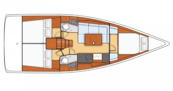 Alquiler de barcos Bénéteau Oceanis 38 enPomer en Samboat