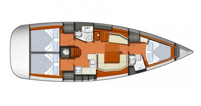 Alquiler de barcos Atenas barato de Sun Odyssey 42i