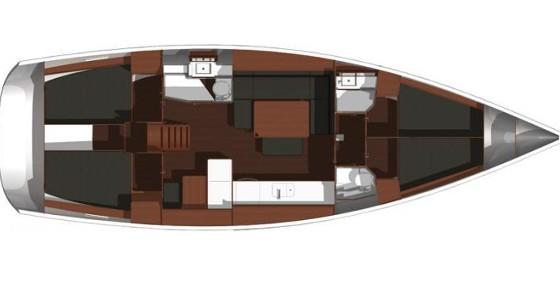 Alquiler de barcos Dufour Dufour 445 Grand Large enKaštel Gomilica en Samboat