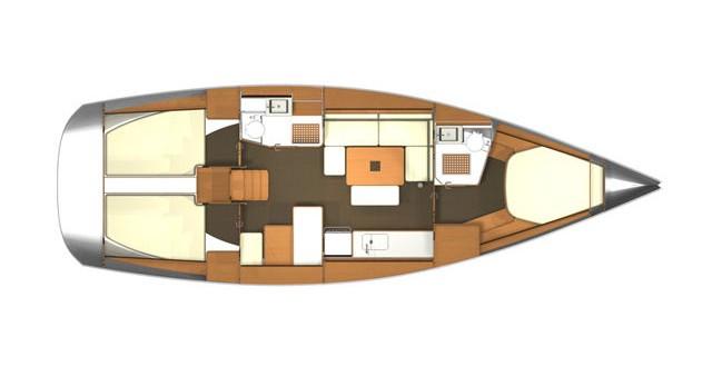 Alquiler de barcos Rogoznica barato de Dufour 405 Grand Large