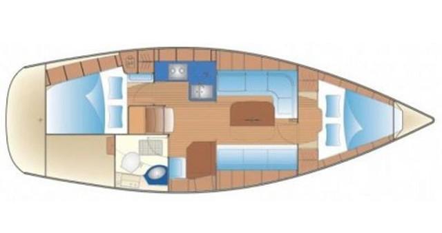 Alquiler de barcos Atenas barato de Bavaria 34 Cruiser