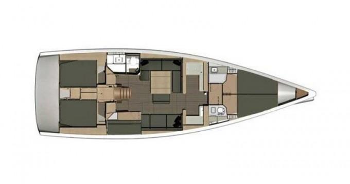 Alquiler de barcos Dufour Dufour 512 Grand Large enKaštel Gomilica en Samboat
