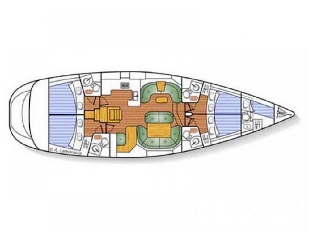 Alquiler de barcos Jeanneau Sun Odyssey 54DS en en Samboat