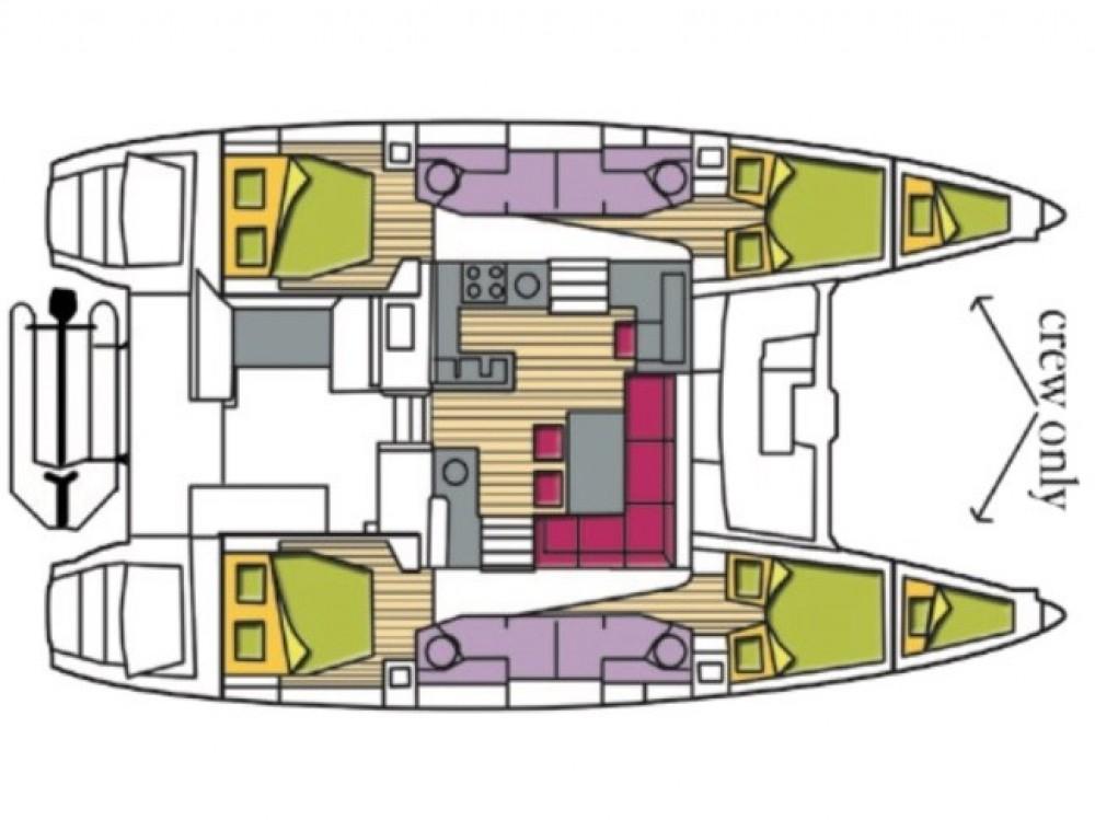 Alquiler de yate Castiglioncello - Lagoon Lagoon 450F en SamBoat