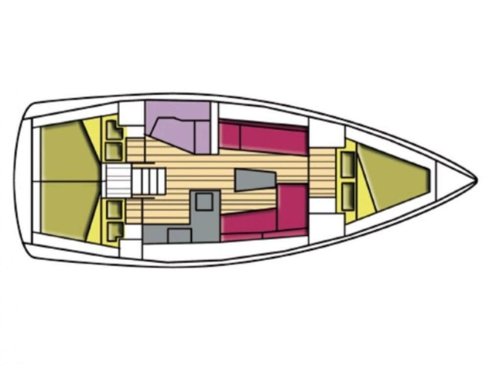 Alquiler de barcos Cala dei Sardi barato de Bavaria Cr 37