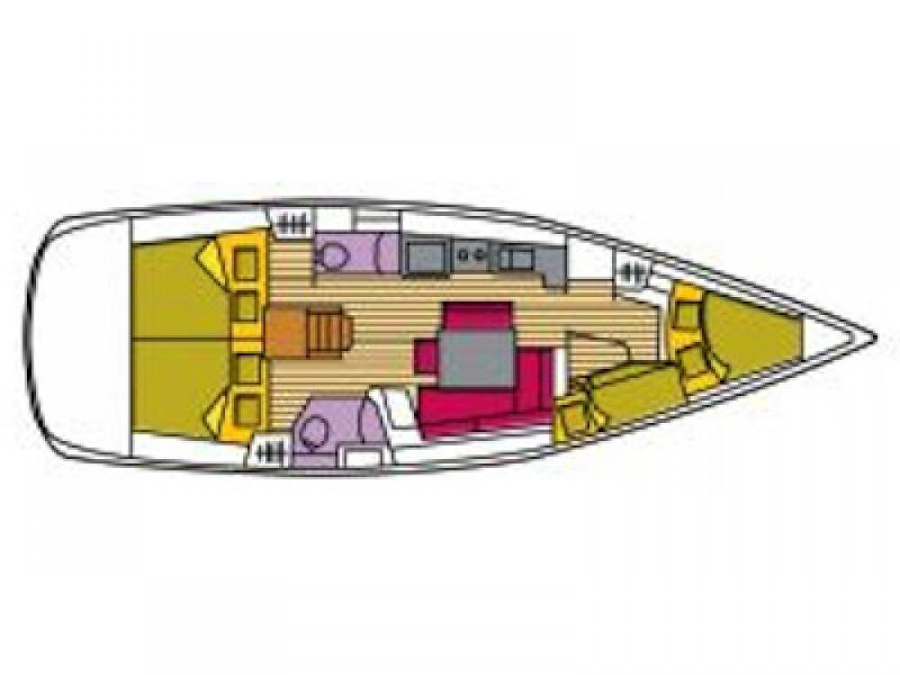 Alquiler de yate Cala dei Sardi - Bénéteau Oceanis 43 en SamBoat