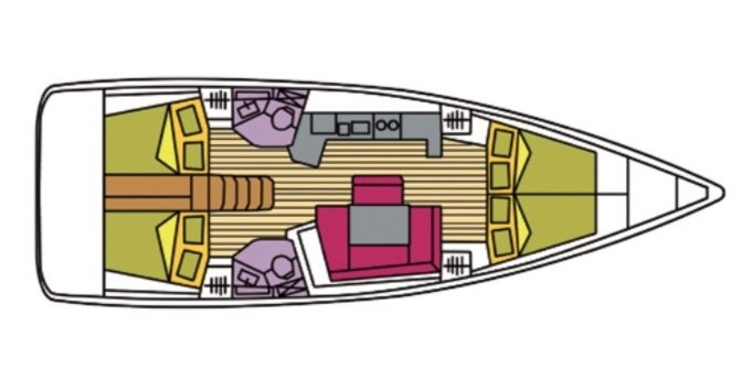Alquiler de yate Portisco - Bénéteau Oceanis 45 en SamBoat