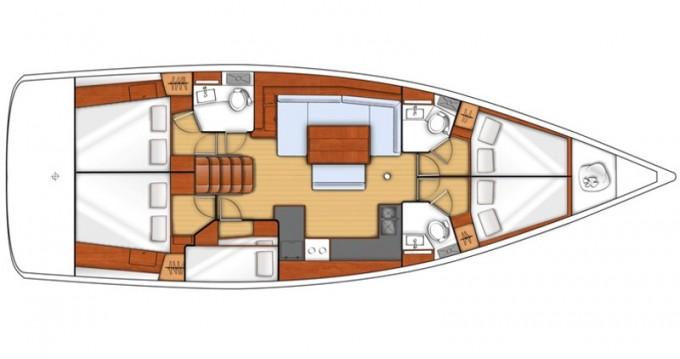 Alquiler de barcos Kalkara barato de Oceanis 48