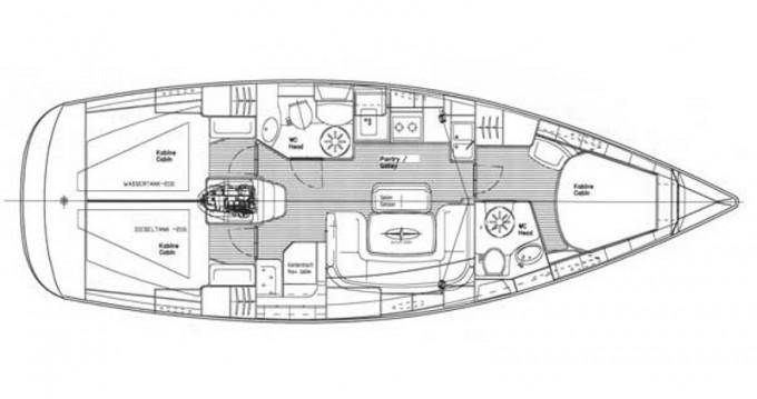 Alquiler de barcos Bavaria Bavaria 39 Cruiser enSkiathos en Samboat