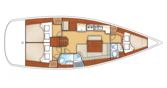 Alquiler de Bénéteau Oceanis 40 en Kalkara