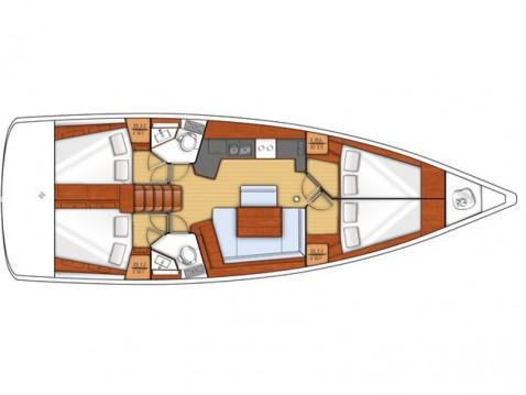 Alquiler de barcos Bénéteau Oceanis 45 enGouviá en Samboat