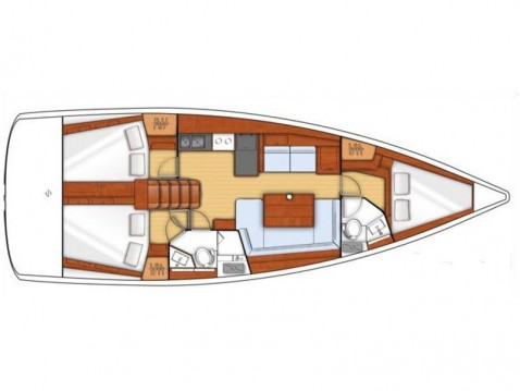 Alquiler de barcos Zadar barato de Oceanis 41