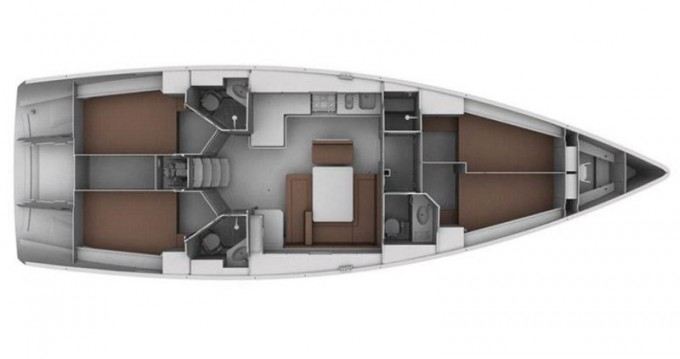 Alquiler de barcos Skiathos barato de Cruiser 45
