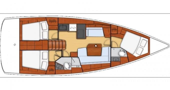Alquiler de barcos Bénéteau Oceanis 41.1 enÁlimos en Samboat