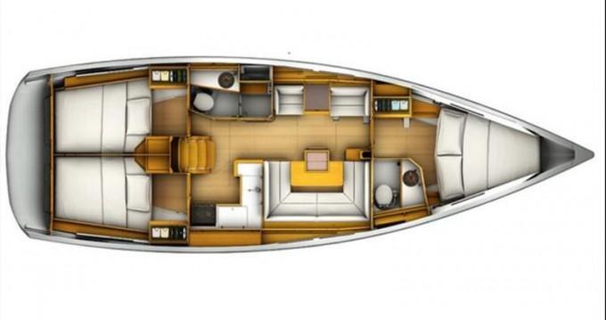 Alquiler de barcos Lefkada (Isla) barato de Sun Odyssey 409