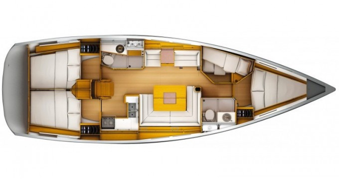 Alquiler de barcos Kalkara barato de Sun Odyssey 439