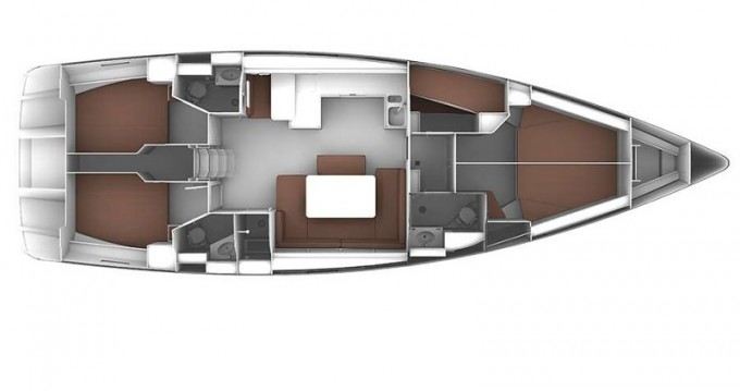 Alquiler de barcos Skiathos barato de Cruiser 51
