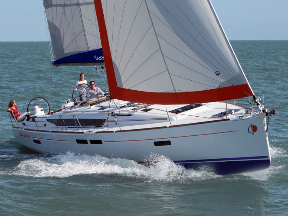 Alquiler de yate Port Louis Marina - Jeanneau Sunsail 47/3 en SamBoat