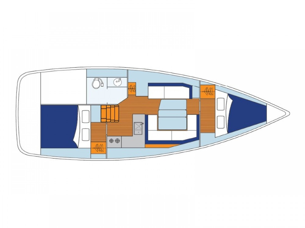 Jeanneau Sunsail 34- 2/1 entre particulares y profesional Marina