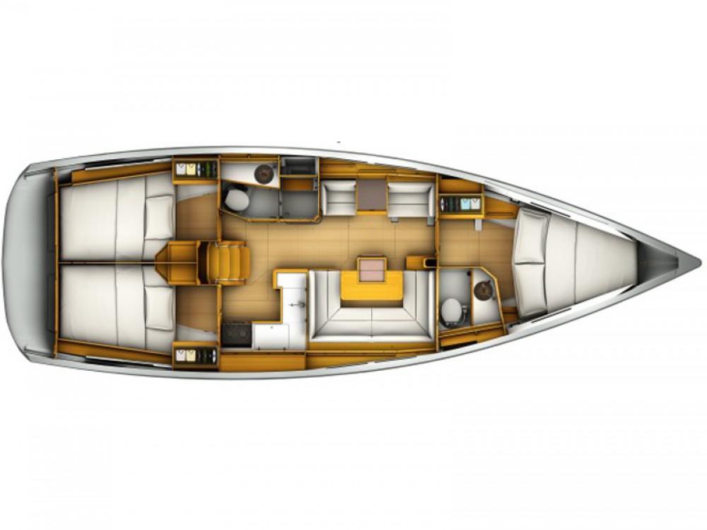 Alquiler de barcos Marina Gouvia barato de Sunsail 41.1
