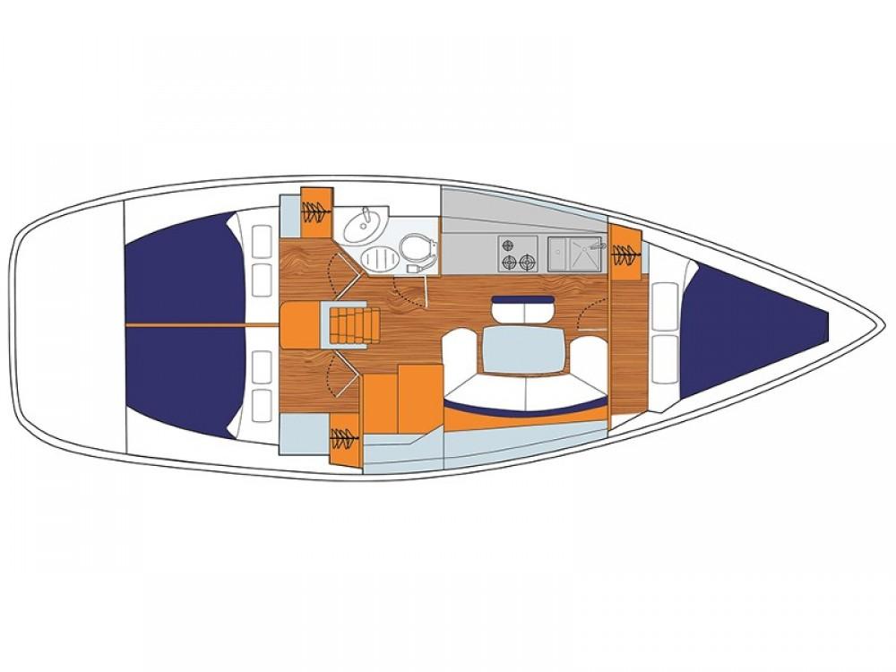 Alquiler de Jeanneau Sunsail 38 en ACI Marina Dubrovnik