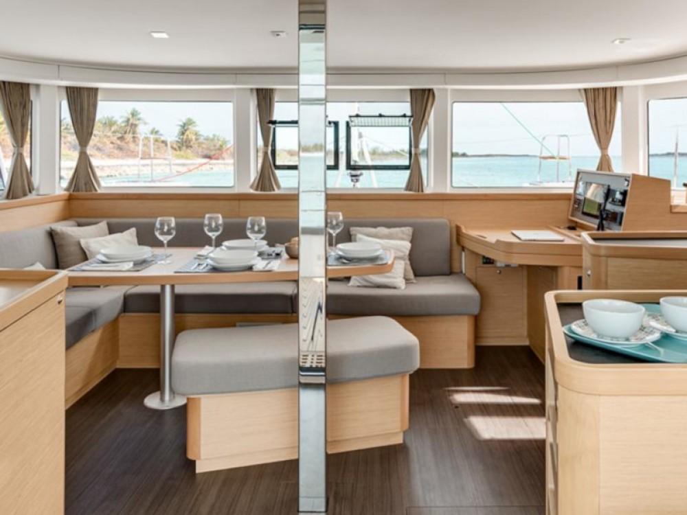 Alquiler Catamarán en Rodney Bay - Lagoon Sunsail 424