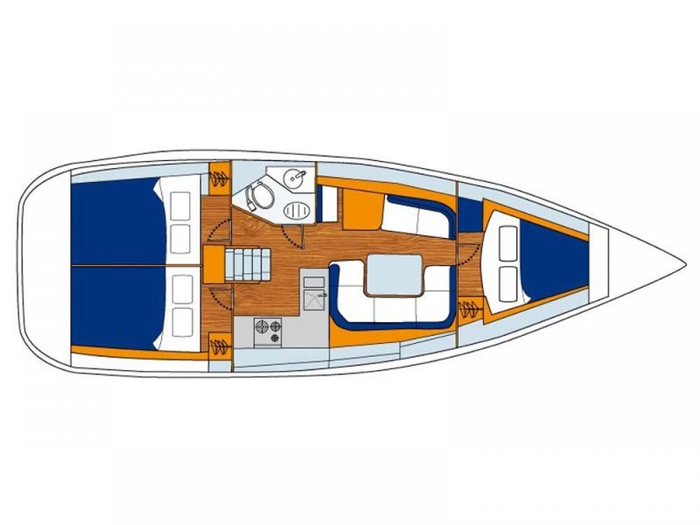 Alquiler de barcos Jeanneau Sunsail 36i en en Samboat