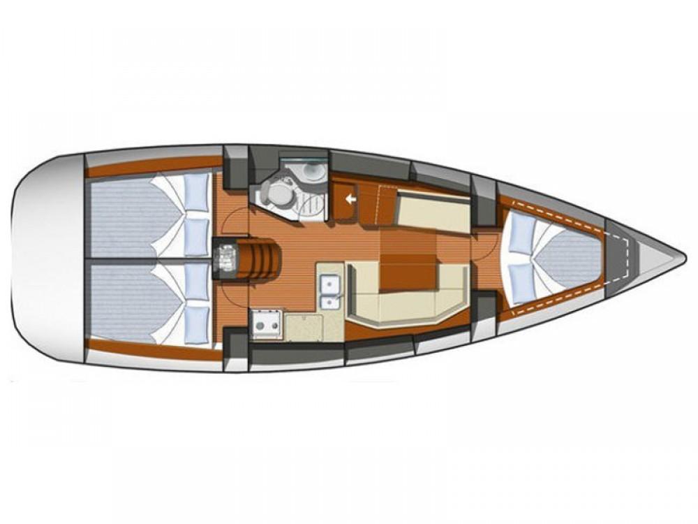 Alquiler de barcos  barato de Sunsail 36i